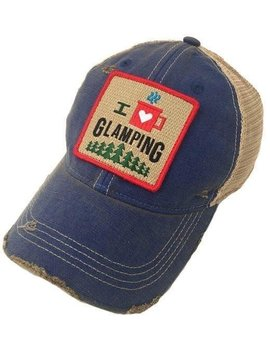 I Love Glamping Patch Cap