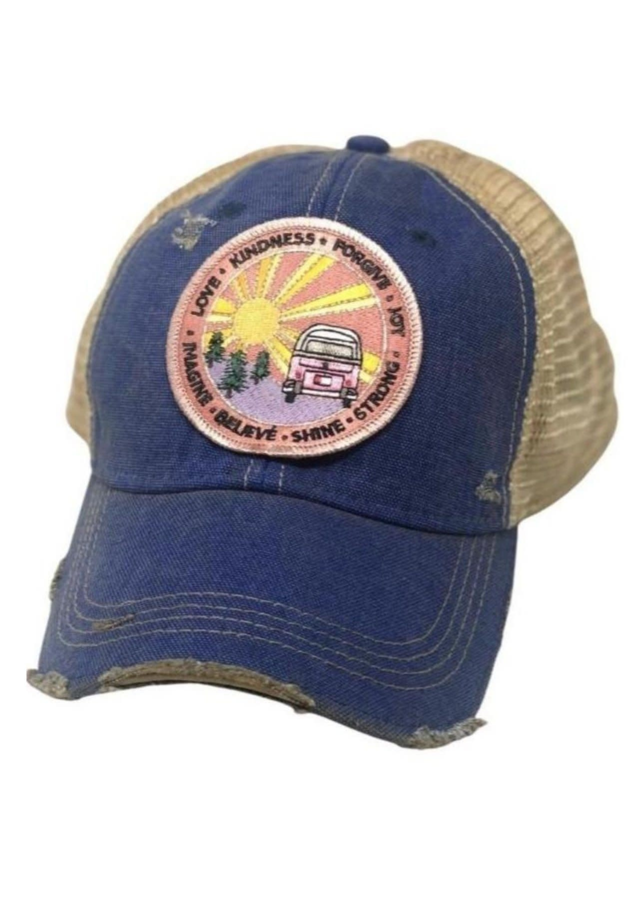 Riding Into the Sunset Patch Cap