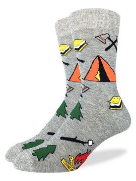 Let's Go Camping Men's Crew Socks