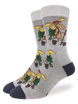 Hiking Moose Men's Crew Socks