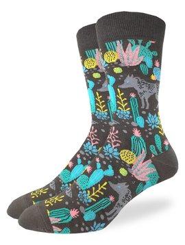 Desert Wolf Men's Crew Socks