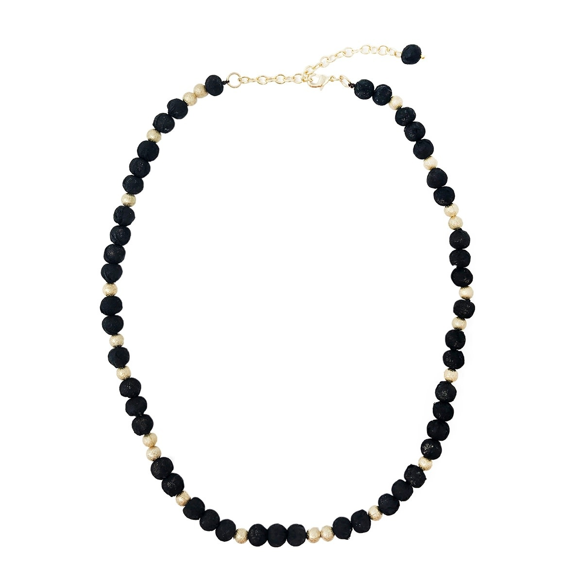 Kantha Starry Night Classic Strand Necklace