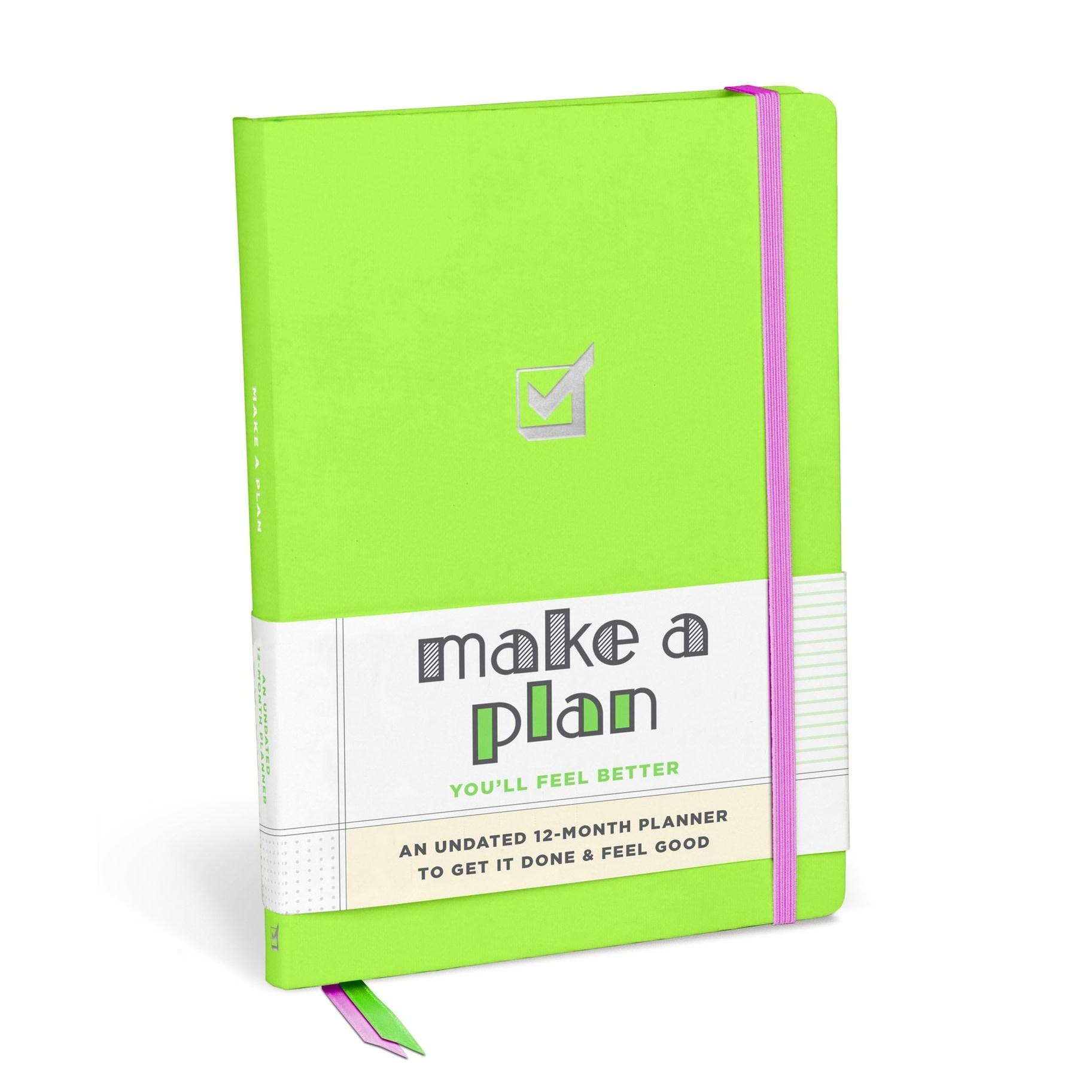 Make a Plan Hardcover Planner