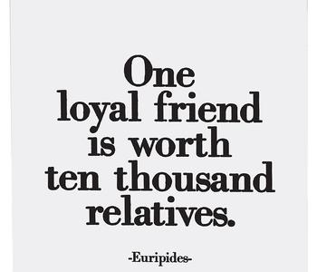 One Loyal Friend Inspirational Card