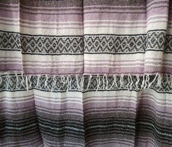 Lavender + Gray Falsa Blanket