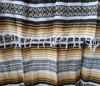 Black + Gold Falsa Blanket