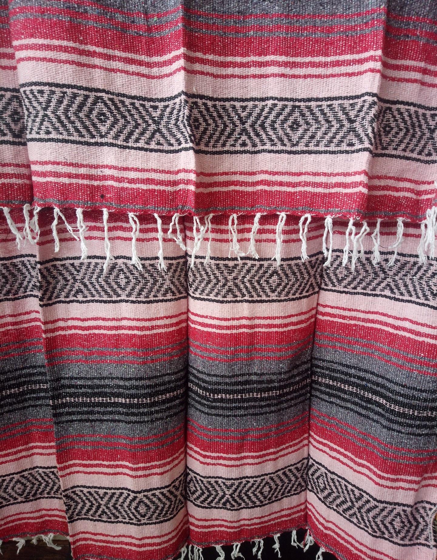 Red + Pink Falsa Blanket
