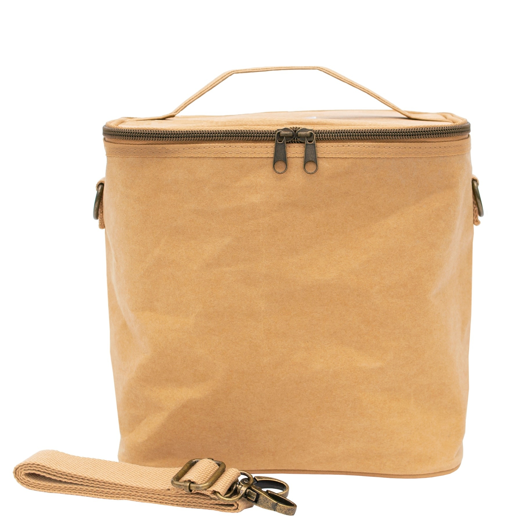 Kraft Paper Lunch Tote Bag