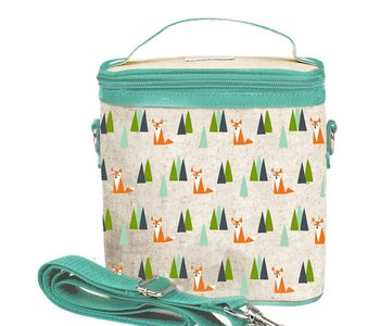 Olive Fox Kids Cooler Lunch Tote Bag
