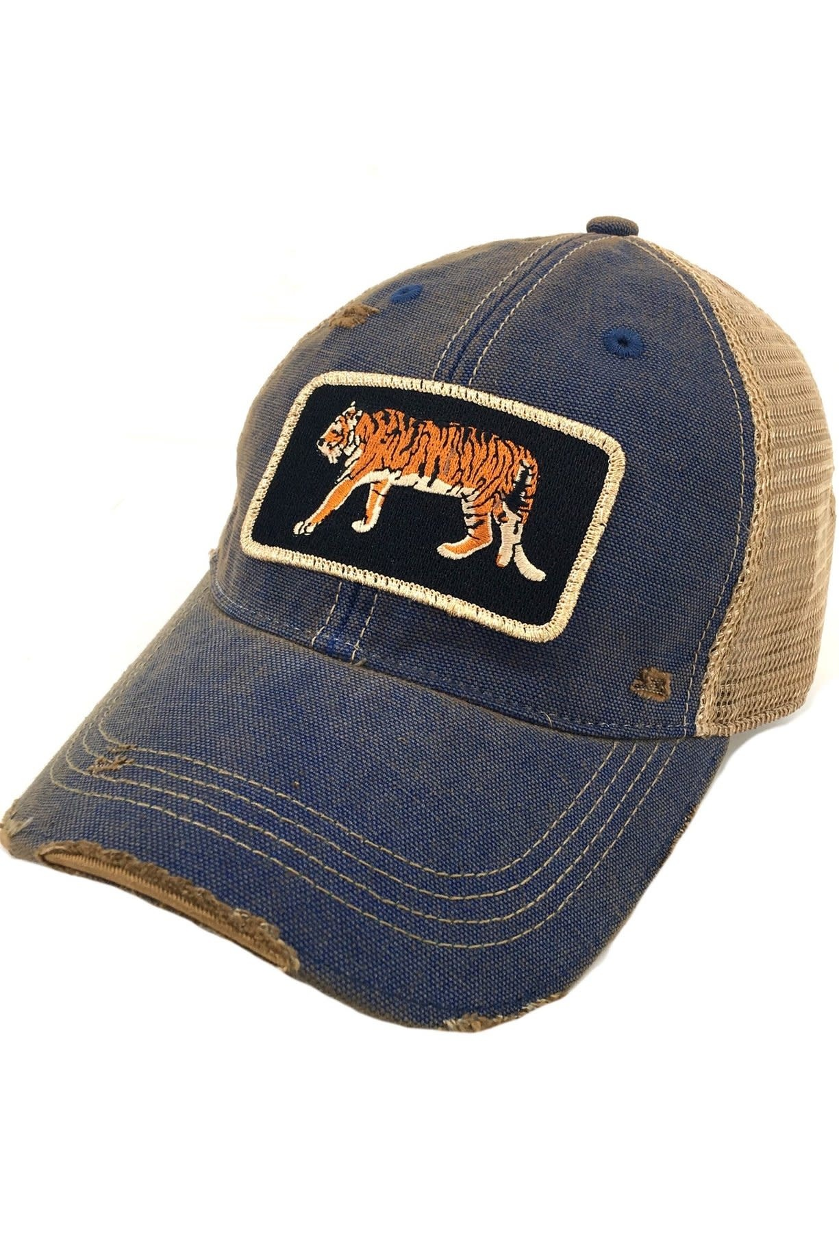 Go Get Em Tiger Blue Patch Cap