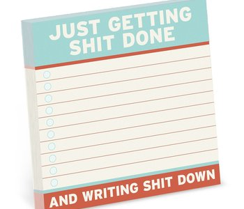 Getting Stuff Done Sticky Notes