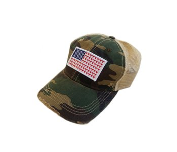 Steer Flag Patch Cap