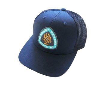 Weston Bend State Park Navy Snapback Hat