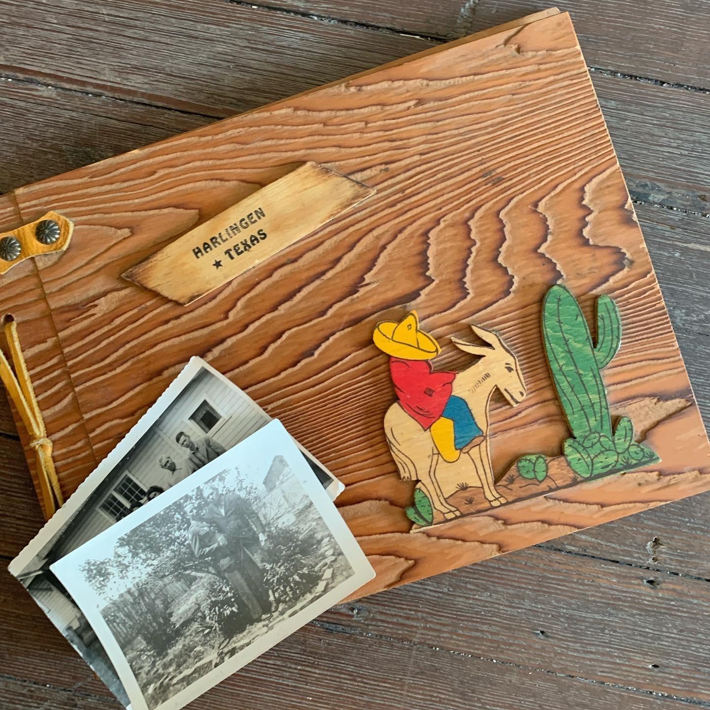 1942 Harlingen Texas Scrapbook