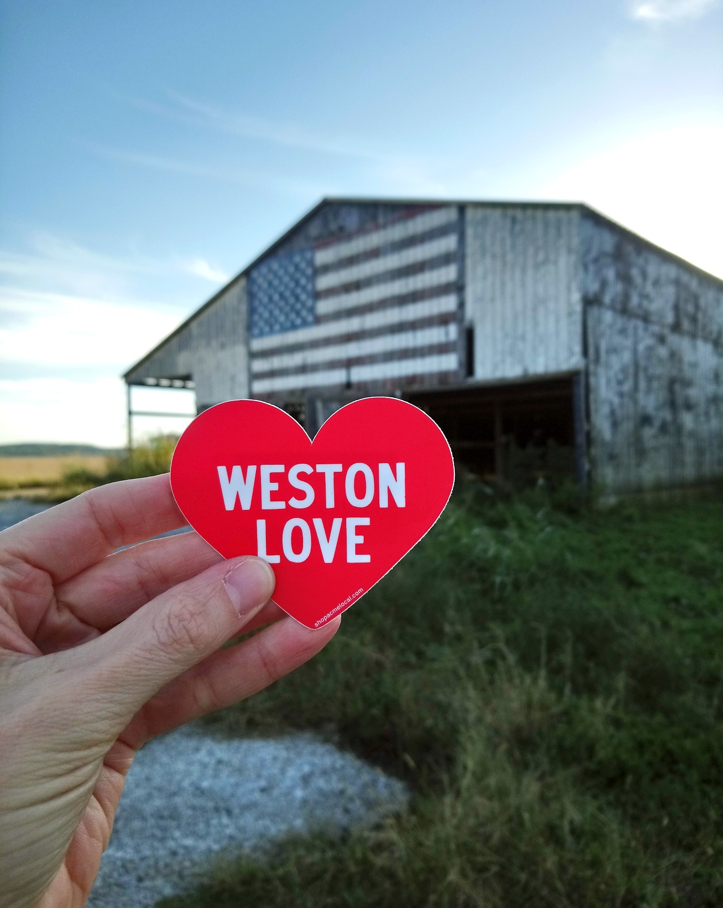 Weston Love Sticker