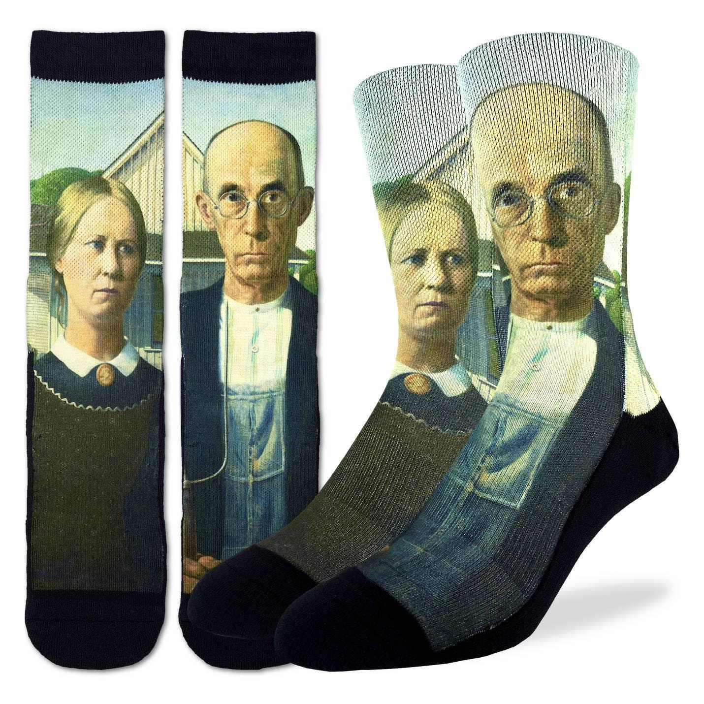 American Gothic Men's Crew Socks