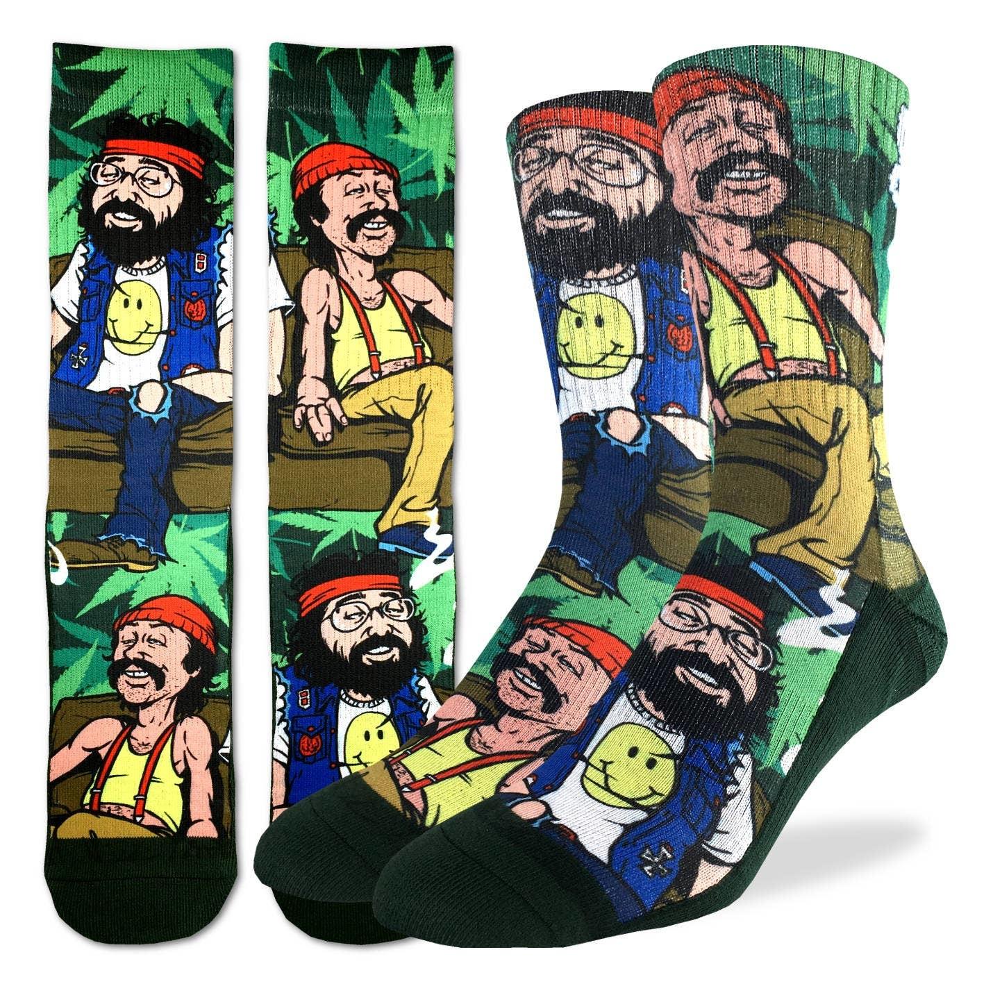 Cheech & Chong Men's Crew Socks