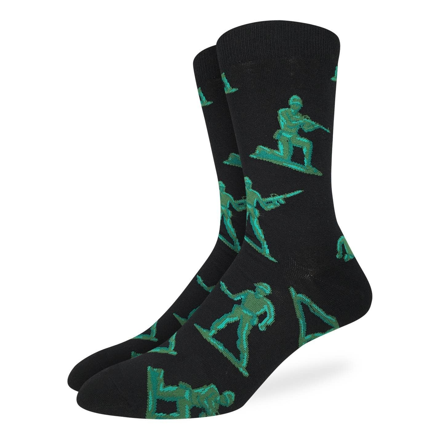 Toy Soldiers Men's Crew Socks