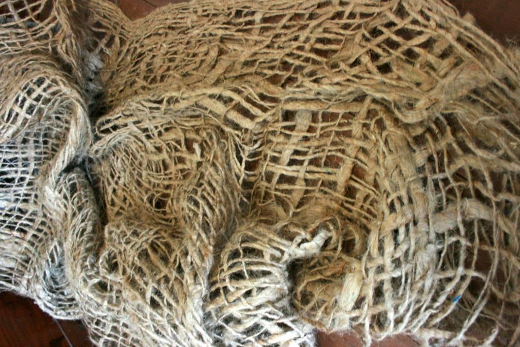 Bundle of Burlap