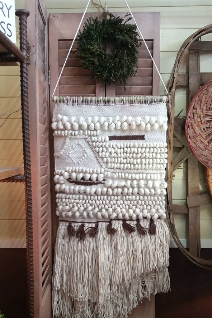 Hand Woven Wall Hanging Cactus Creek
