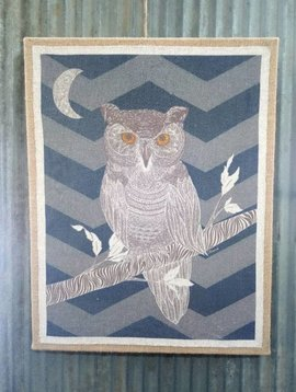 Midnight Owl Wall Art