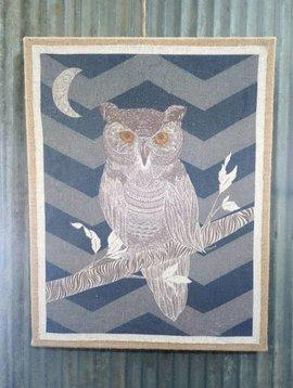 Midnight Owl Wall Art
