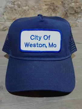 City of Weston MO Trucker Hat
