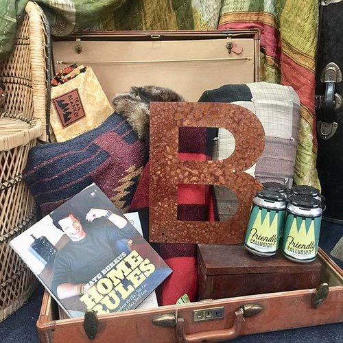 """Rusted Metal Letter B 12"""""""
