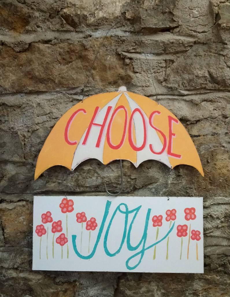 Choose Joy Wall Sign