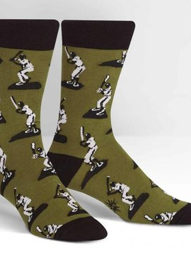 Batter Up Crew Socks