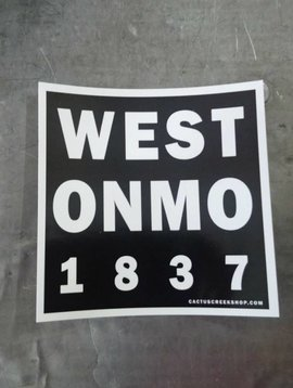 Weston Missouri Sticker
