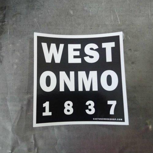 Weston Missouri Sticker