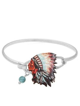 Chief Wire Bracelet Silver