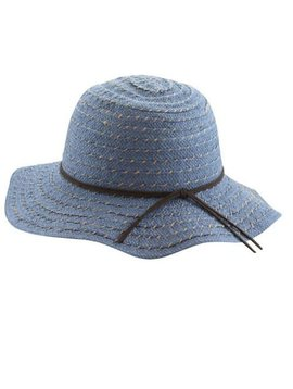 Blue Floppy Sun Hat