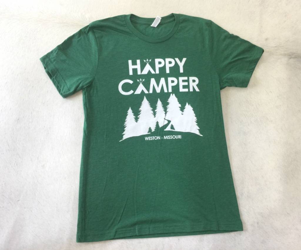 Happy Camper Weston Missouri Tee