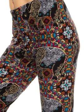 Boho Elephant Legging