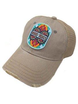 Good Vibes Patch Ball Cap
