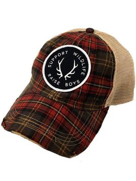 Support Wildlife Raise Boys Ball Cap