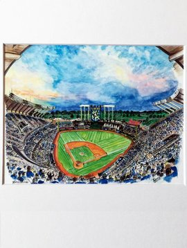 Kauffman Stadium Print