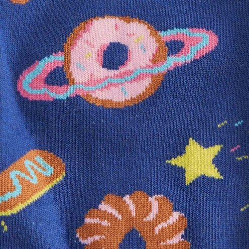 Glazed Galaxy Crew Socks