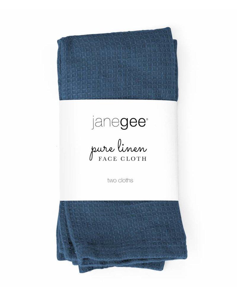 janegee Linen Face Cloth
