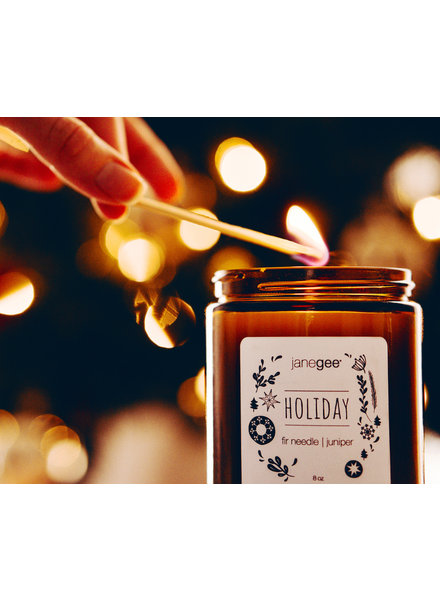 janegee Holiday Candle