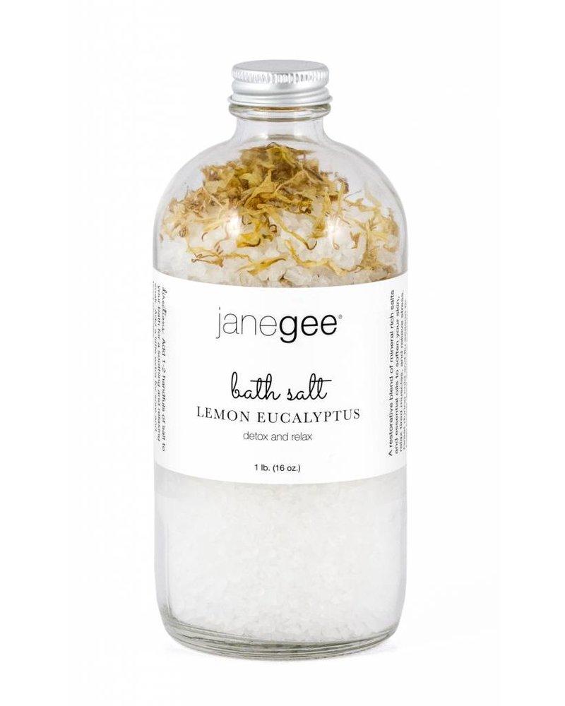 janegee Lemon Eucalyptus Bath Salt