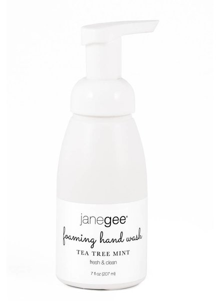 janegee Tea Tree Mint Foaming Handwash
