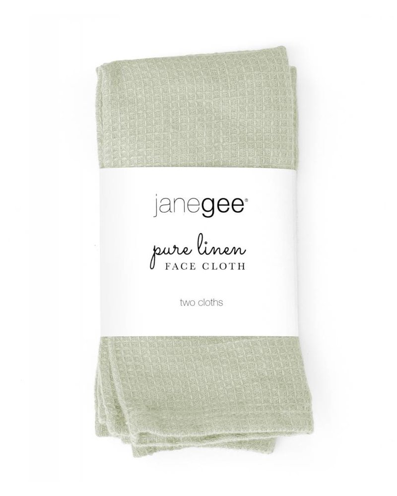 janegee Linen Face Cloth