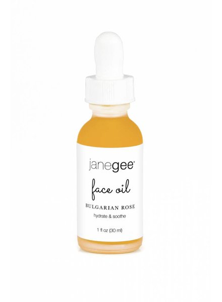 janegee Bulgarian Rose Face Oil