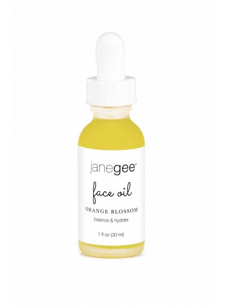 janegee Orange Blossom Face Oil