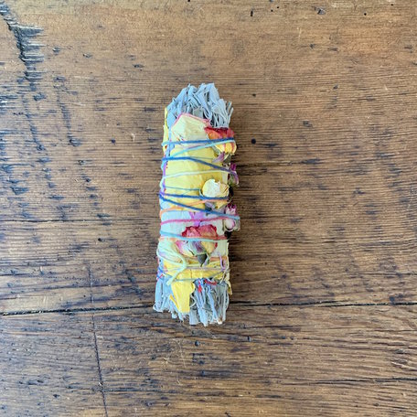 Large Floral Smudge Stick - Catherine Rising