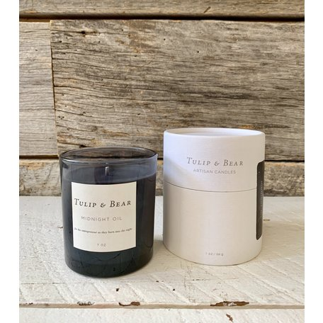 Tulip & Bear Midnight Oil Candle