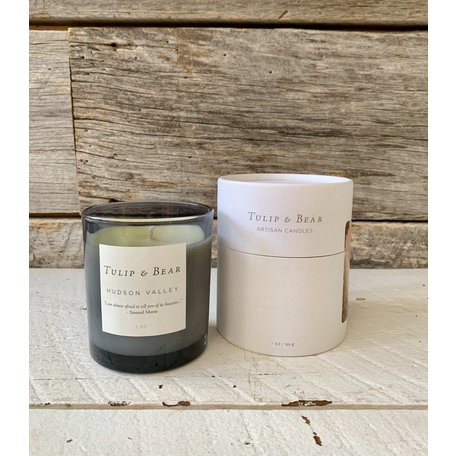 Tulip & Bear Hudson Valley Candle